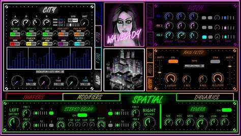 Wavelady, the new NI instrument from Goremall made for Synthwave