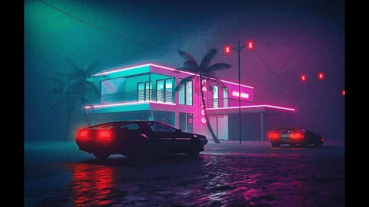 Neutron Dreams – A Moment in Time | SYNTHWAVE